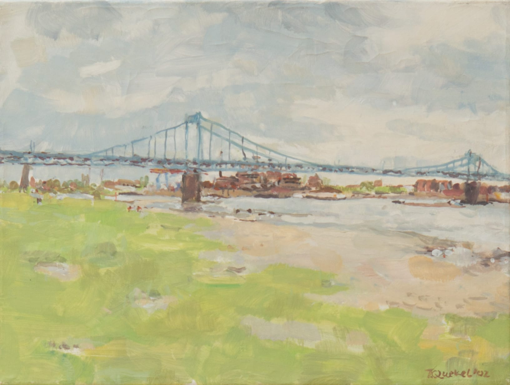 Theo Quekel-Brücke Krefeld-Ürdingen