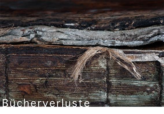 Ausstellungen: Monika Kuck - Bücherverluste