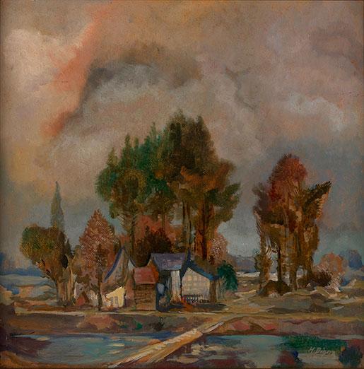 Herm Dienz-Herbstlandschaft