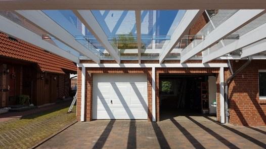 Carport mit Glasdach 1