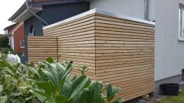 Gartenhaus mit Rhombus Schalung2
