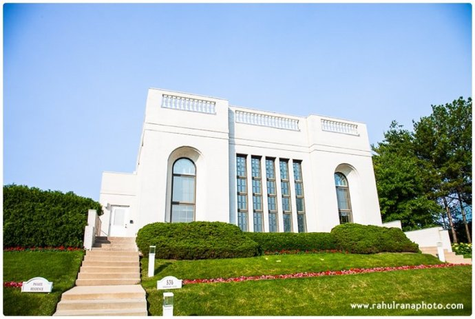 Baha I Temple Wilmette Illinois Rahul Rana Photography