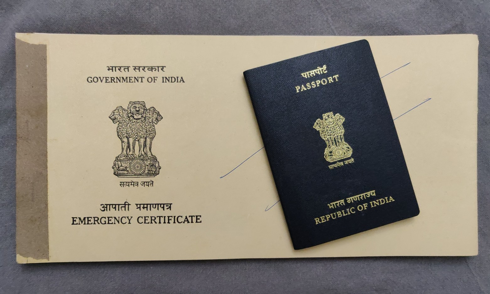 Lost my Indian passport while in Europe