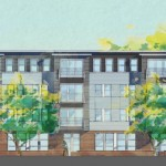 Rahway Residence for the Arts Central Av elevation