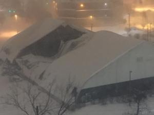 Center Circle roof collapse