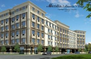 Meridia Lafayette Village rendering