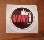 Rahway Rising sticker