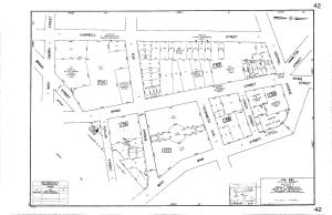 Rahway Tax Map - Block 154