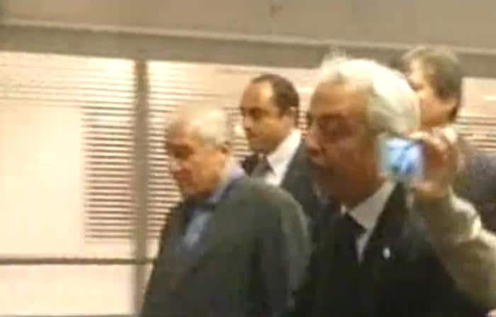 Arriving at   Fiumicino airport in Rome, former senator of Forza Italy was assigned to the medical facility inside the prison