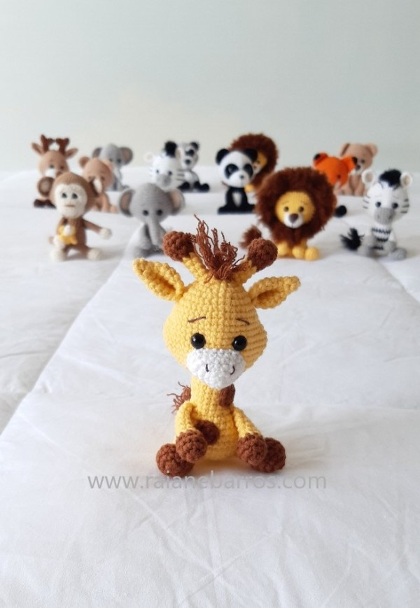 Girafa Amigurumi Baby