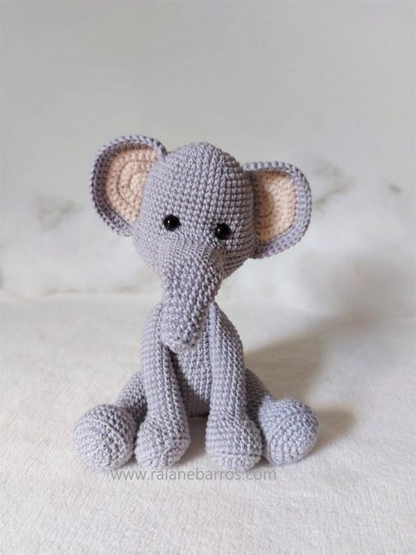 Capa Tito Elefante Amigurumi