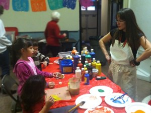 Liz Lopez Velez conducted hands-on visual arts workshops for children and families and helped to organize the Cultural Legacy Festival 2012.