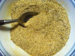 Homemade organic adobo