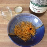 What you need to make calendula infused oil