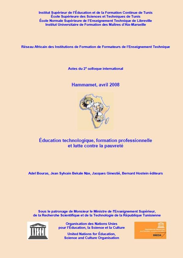 Actes du colloque international #RAIFFET2008 de Hammamet en TUNISIE du 15 au 18 avril 2008