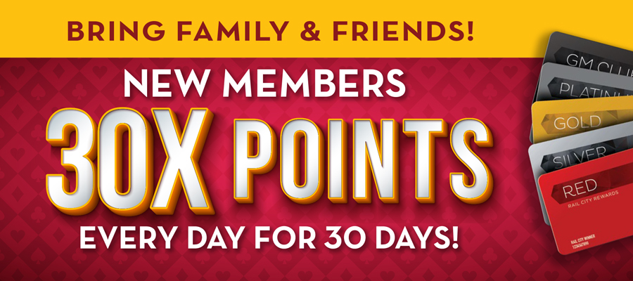 New Members 30X Points