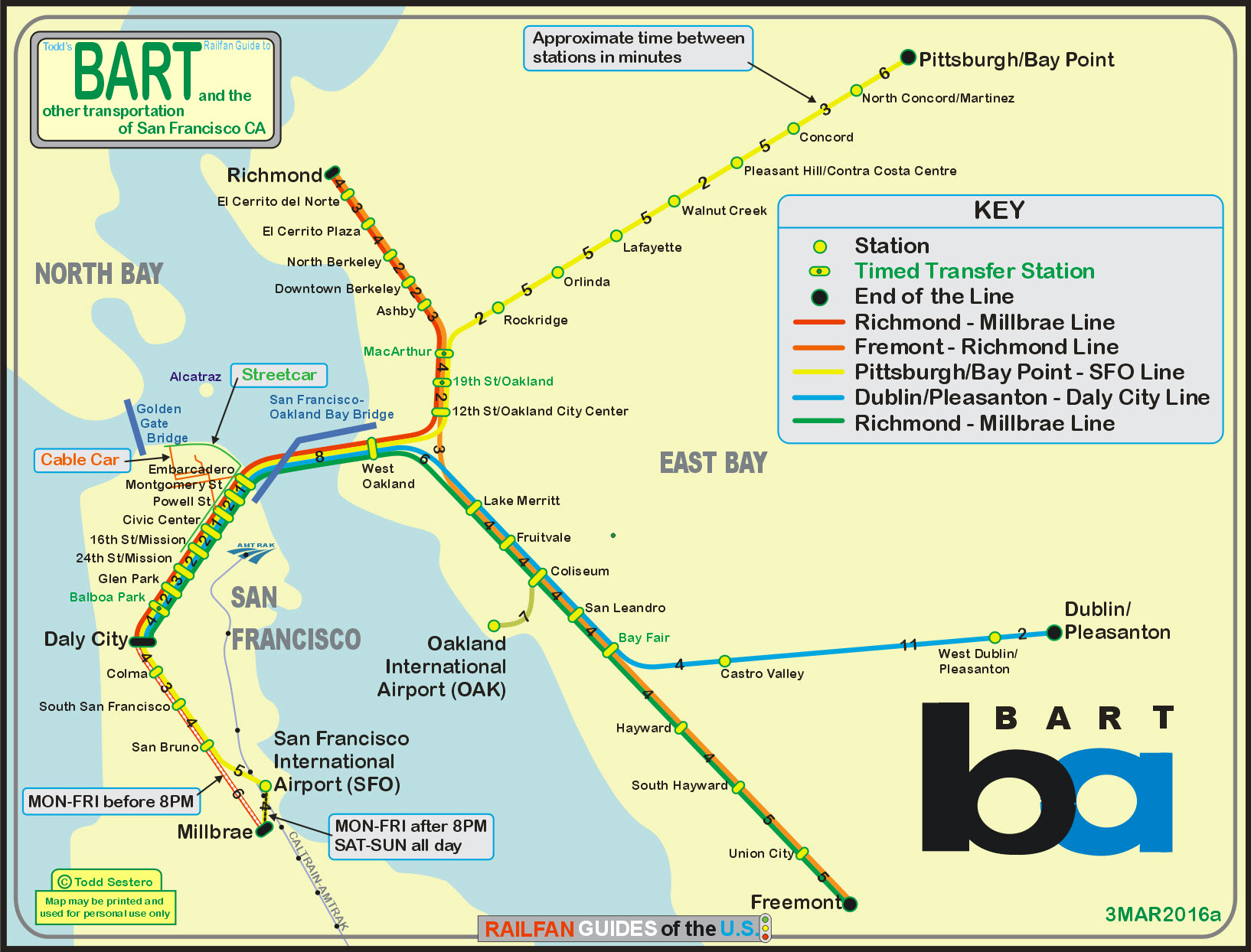 San Franciscos Bart Railfan Guide