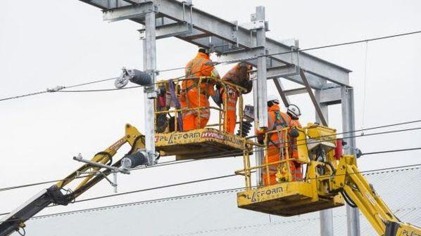 Britain rail electrification