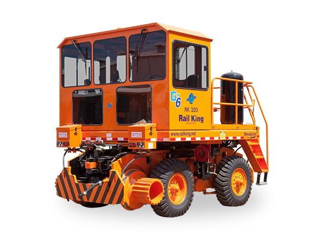 rk320 g4 international railcar mover