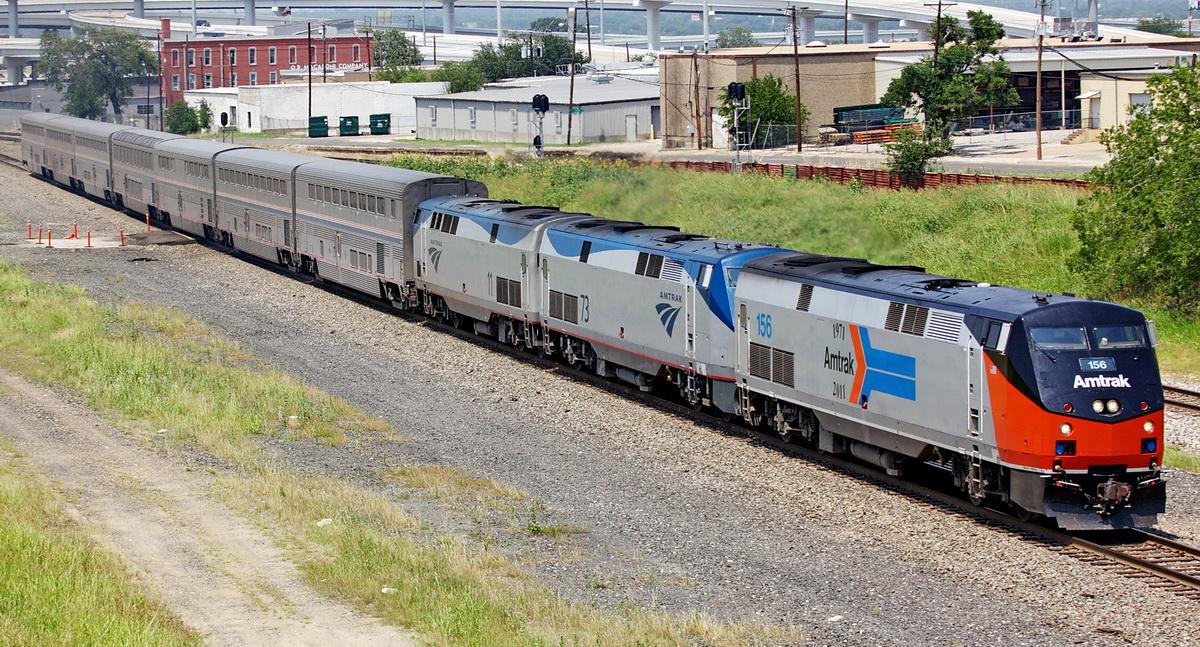 Amtrak S 40th Anniversary Train Rsus