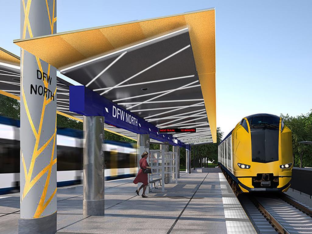 Cotton Belt commuter line construction contract awarded – Rail Sistem