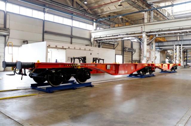 UWC flat cars for Deutsche Bahn