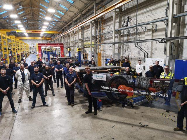 Siemens Mobility Bogie Service Centre