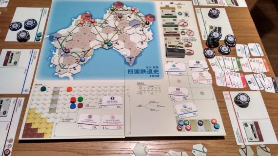 Mapa na koniec gry.