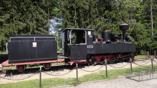 One of the litte trains