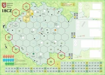 """Mapa """"Bohemia"""" dla 2 graczy"""