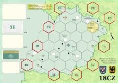 """Mapa """"Moravia"""" dla 2-3 graczy"""