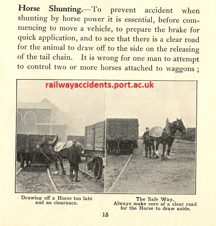 Steam vs horse power - Railway Work, Life & Death