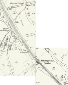 Shillingstone station, 1901