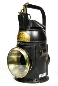 Guard's lamp.