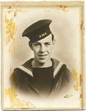 Stephen's 3rd son, Robert Roy, in the Navy.