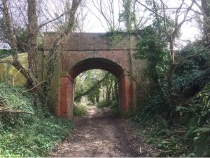 Sidmouth branch railway line - disused railway - branch line - Sidmouth
