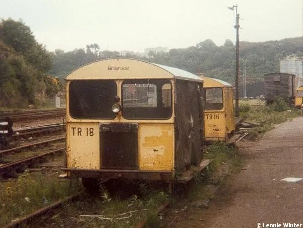 Wickham Trolley on the line