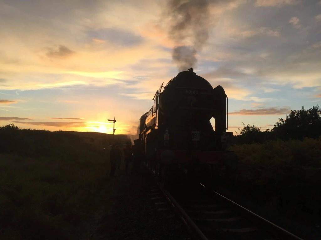 A1 Steam Locomotive Trust 60163 Tornado steam locomotive