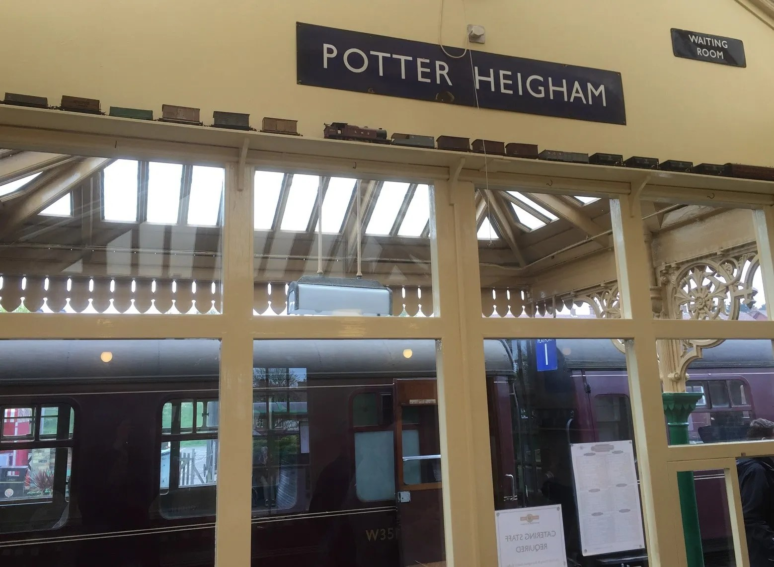 Sherringham Railway Station on the North Norfolk Railway