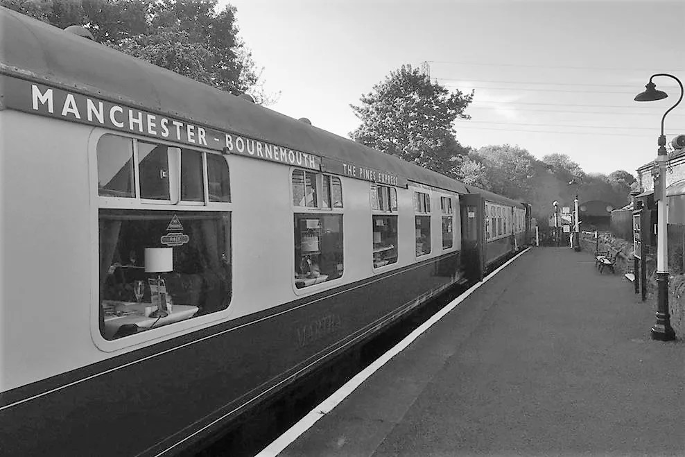 Bath Railway Society Jubilee dinner on the Pines Express