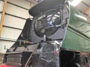 Bulleid Class - 34072 - Herston Works - Swanage - 2017