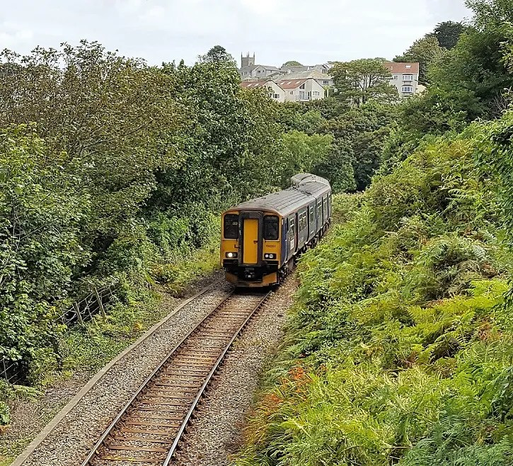 Carbis Bay, st ives branch line - railcard