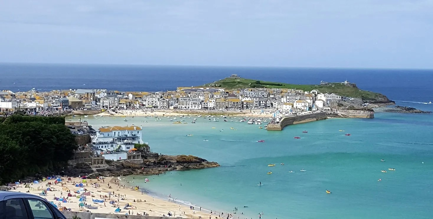 train travel - railcard - st ives - cornwall