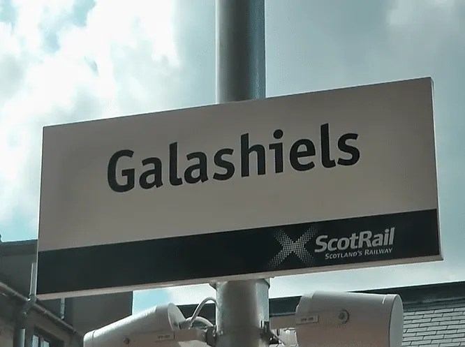 Galashiels railway station
