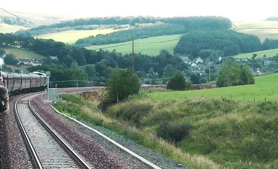 60009 - Union of South Africa - Waverley Route - Borders Railway