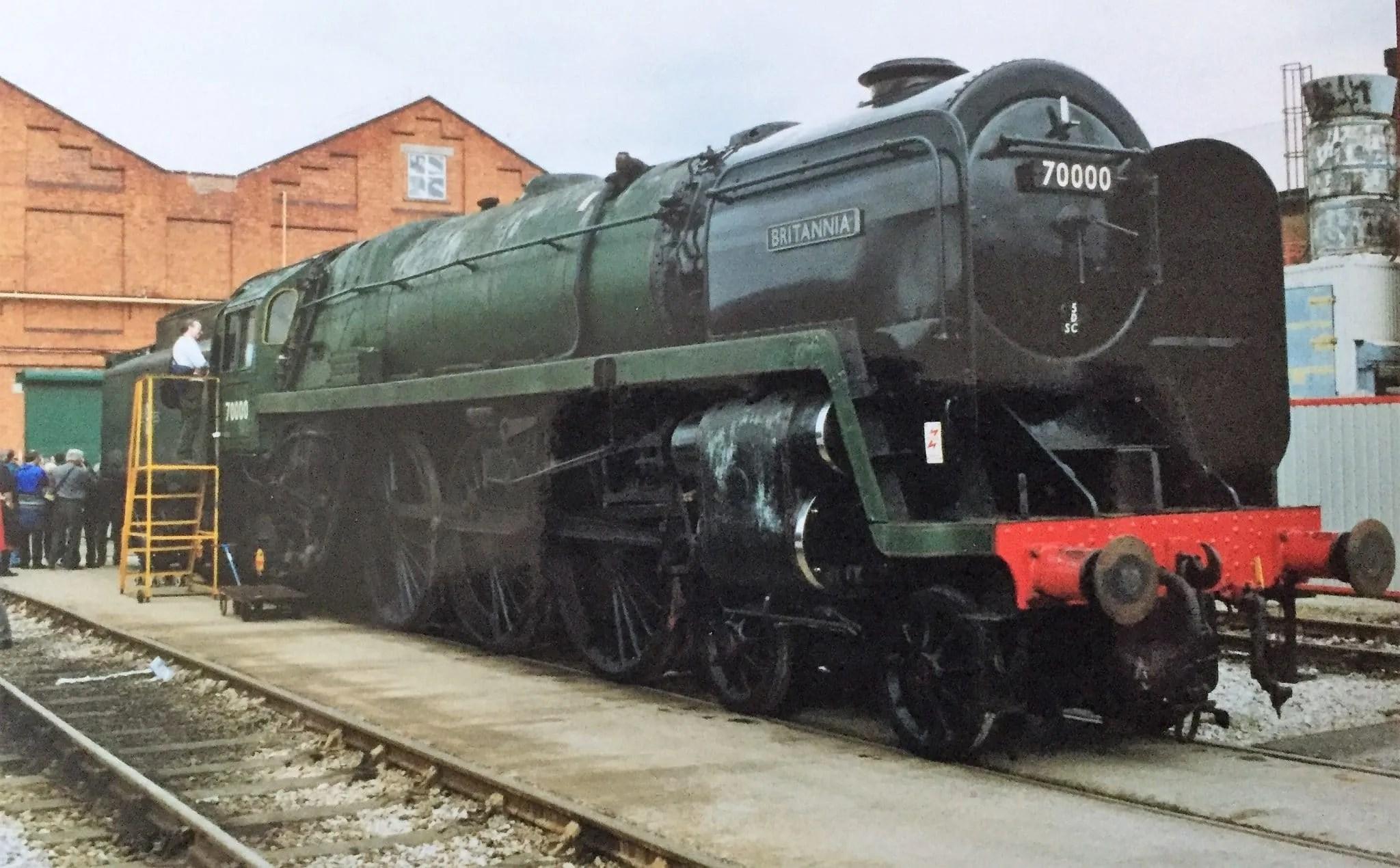 Crewe works memories - 70000 - Brittania - BR Standard Class 7