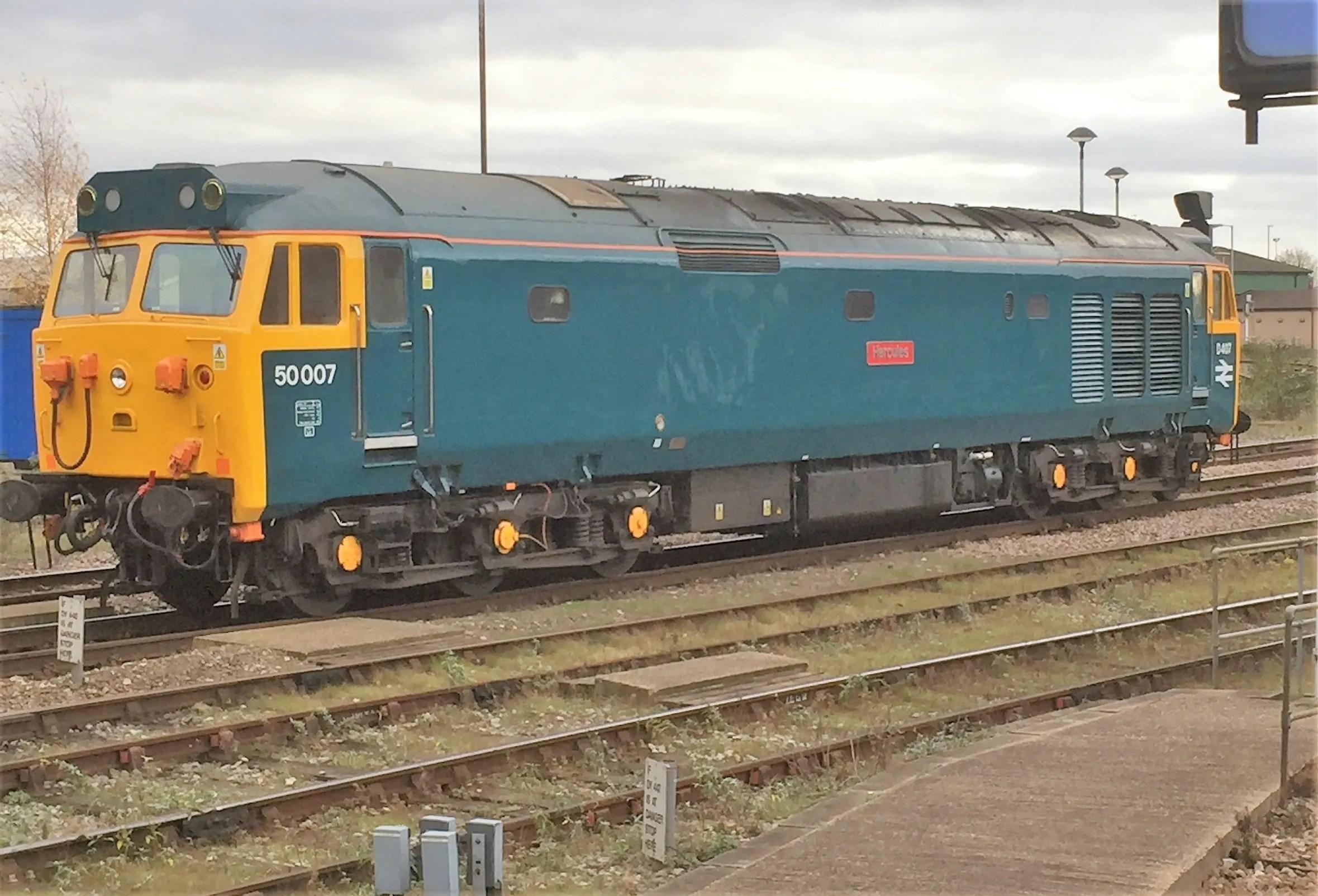 Class 50 diesel locomotive
