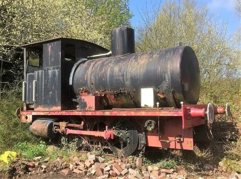 Barclay fireless loco No 1944 at Telford Steam Railway