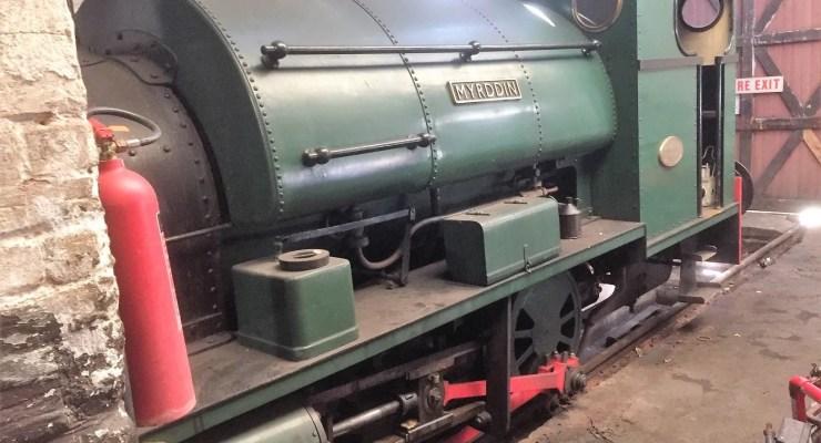 Myrddin Peckett works no 1967/1939 at Telford Steam Railway