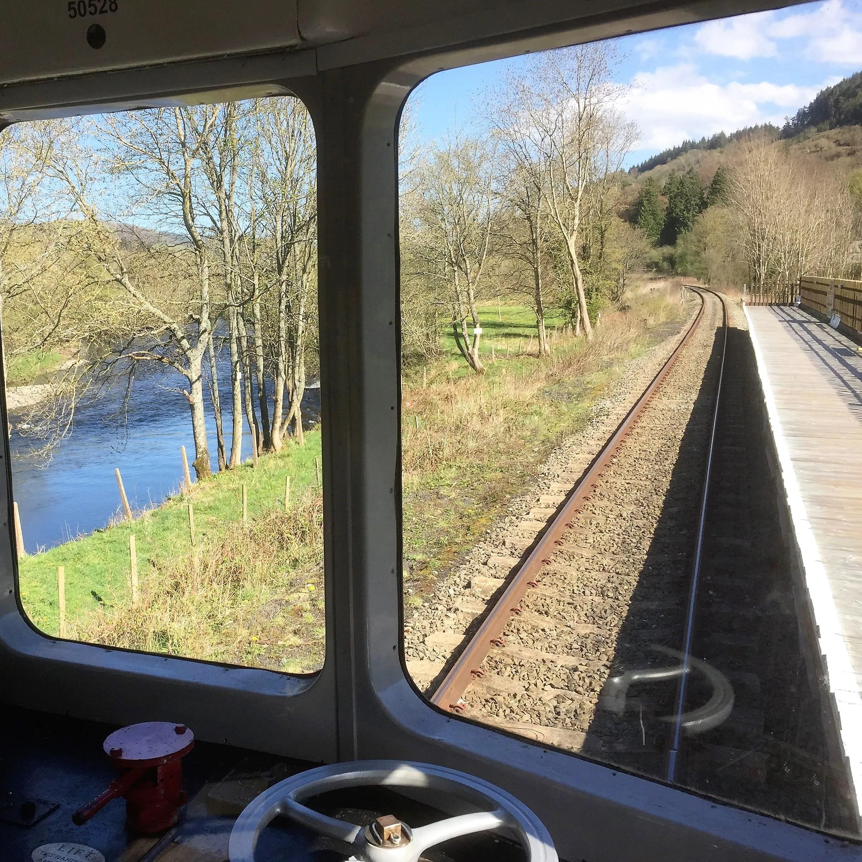 Class 104 DMU Llangollen Railway Corwen